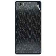 Snooky 43212 Mobile Skin Sticker For Intex Aqua Desire - Black