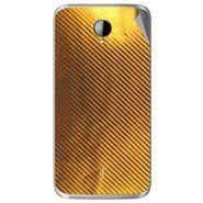 Snooky 43281 Mobile Skin Sticker For Intex Aqua i14 - Golden