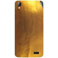 Snooky 43341 Mobile Skin Sticker For Intex Aqua N7 - Golden