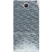 Snooky 43373 Mobile Skin Sticker For Intex Aqua N17 - silver