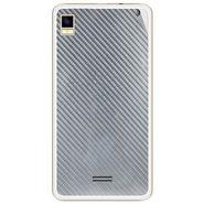 Snooky 43458 Mobile Skin Sticker For Intex Aqua Star 5.0 - silver