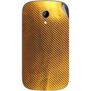 Snooky 43509 Mobile Skin Sticker For Intex Aqua T2 - Golden