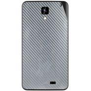 Snooky 43566 Mobile Skin Sticker For Intex Aqua Y2 Ips - silver