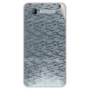 Snooky 43589 Mobile Skin Sticker For Intex Cloud Y11 - silver