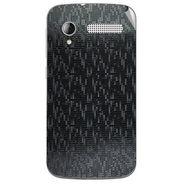 Snooky 43596 Mobile Skin Sticker For Intex Cloud Y12 - Black