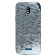 Snooky 43841 Mobile Skin Sticker For Lava Iris 450 - silver