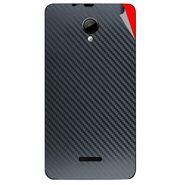 Snooky 43951 Mobile Skin Sticker For Micromax Canvas Fun A76 - Black
