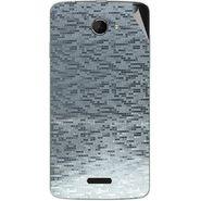 Snooky 44225 Mobile Skin Sticker For Micromax Canvas Elanza 2 A121 - silver