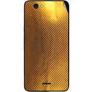 Snooky 44277 Mobile Skin Sticker For Micromax Canvas knight cameo A290 - Golden