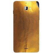 Snooky 44301 Mobile Skin Sticker For Micromax Canvas Nitro A310 - Golden