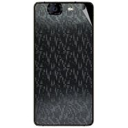 Snooky 44328 Mobile Skin Sticker For Micromax Canvas Knight A350 - Black