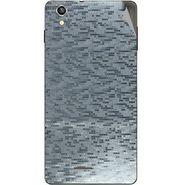 Snooky 44501 Mobile Skin Sticker For Xolo A1010 - silver