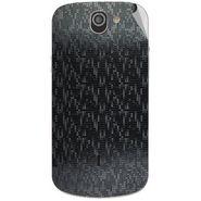Snooky 44544 Mobile Skin Sticker For Xolo Q600 - Black