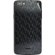 Snooky 44568 Mobile Skin Sticker For Xolo Q610s - Black