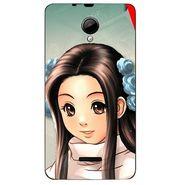 Snooky 45943 Digital Print Mobile Skin Sticker For Micromax Canvas Fun A76 - Multicolour