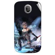 Snooky 46013 Digital Print Mobile Skin Sticker For Micromax Ninja A89 - Blue