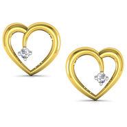 Avsar Real Gold and Swarovski Stone Darshana Earrings_Uqe027yb