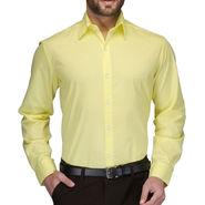 Being Fab Full Sleeves Cotton Shirt_yelwsht - Yellow