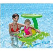 Intex Baby Swimming Pool - Froggy Friend Lounge Float Sunshade