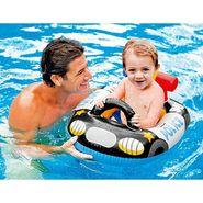 Intex 59586 Kiddie Police Jeep Shape Inflatable Swim Pool Water Float
