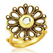 Spargz Alloy Metal Finger Ring_Aifr011