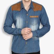 Stylox Cotton Shirt_Lbdenm217s - Light Blue