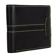 Spire Stylish Leather Wallet For Men_Smw144 - Black