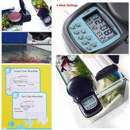 ZINGALALAA New Auto Pond Food Aquarium Timer Automatic Fish Feeder Digital LCD Display