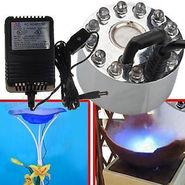 ZINGALALAA Ultrasonic Mist Maker Fogger Water Fountain Pond 12 LED
