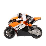 RC 2.4 Ghz Mini Stunt Bike - Orange