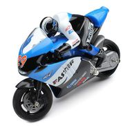 RC 2.4 Ghz Mini Stunt Bike - Blue