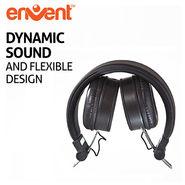 Envent Foldable Bluetooth Headphone LiveFun 550 (Black)