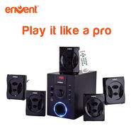 Envent 5.1 Home Audio Bluetooth Speaker Deejay 701 BT (Black)