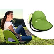 Kawachi Portable Reclining Yoga Chair With 6 Adjustable Positions And Shoulder Strap - Green