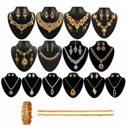 Kriaa 14 Jewellery Set With Free Kada & One Payal_1002114