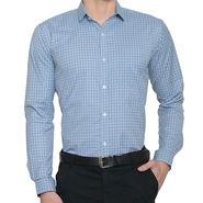 Being Fab Checks Shirt For Men_Bfpld115 - White & Green
