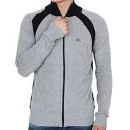 Mufti Zipper For Men_Muftigy - Grey
