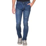 Slim Fit Stretchable Jeans For Men_Fpj154 - Blue