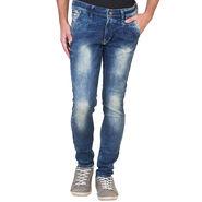 Slim Fit Stretchable Jeans For Men_Fpj163 - Blue