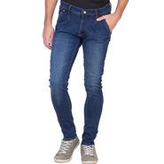 Slim Fit Stretchable Jeans For Men_Fpj166 - Blue