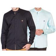 Pack of 2 Full Sleeves Shirt For Men_RcstBkble - Multicolor