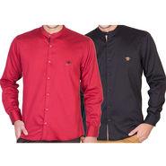 Pack of 2 Full Sleeves Shirt For Men_RcstBkr - Multicolor