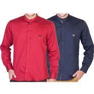 Pack of 2 Full Sleeves Shirt For Men_Rcstrn - Multicolor