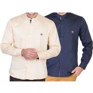 Pack of 2 Full Sleeves Shirt For Men_Rcstyn - Multicolor
