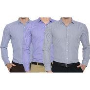 Pack of 3 Slim Fit Checks Shirts For Men_Bfpld113712