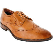 Yellow Tree Leatherette Tan Formal Shoes -ys09