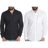 Pack of 2 Pelican Slim Fit Cotton Shirts For Men_Cs0105 - Multicolor