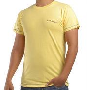 Paul Smith  Cotton Slim Fit Half Sleeves Tshirt_ytpsy - Yellow