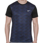 Nike Printed Regular Fit Tshirt_Nikeblk - Black