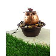 lady Bug Metal fountain with LED light1412-0519